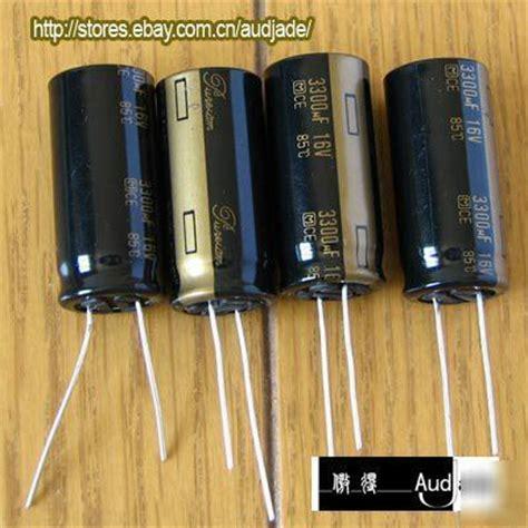 12pcs 3300uf 16v panasonic pureism audio capacitors