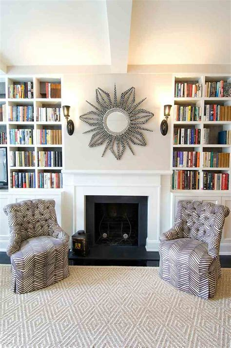Charmant Salon Gris Jaune #3: Decoration-cheminee-miroir-design.jpg