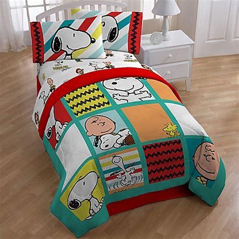 peanuts bedding buy peanuts best friend reversible twin full comforter