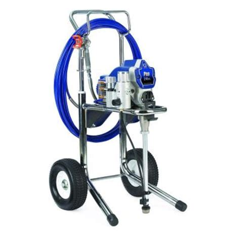 home depot airless paint sprayer graco pro 210es airless paint sprayer 261830 the home depot