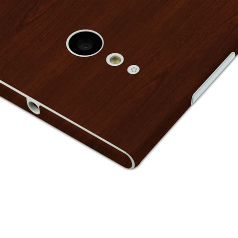 Casing Cover Nokia Lumia 730 skinomi techskin nokia lumia 730 wood skin protector