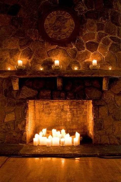candles in fireplace the 25 best ideas about candle fireplace on pinterest