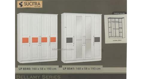 Lemari 2 Pintu Warna Putih lemari warna putih 4 pintu lp 8540 lp 8541 bellamy sucitra
