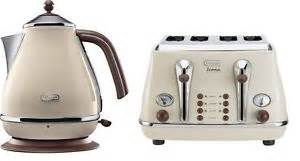 Morphy Richards Kettle And Toaster Cream Delonghi Kettle Toaster Ebay
