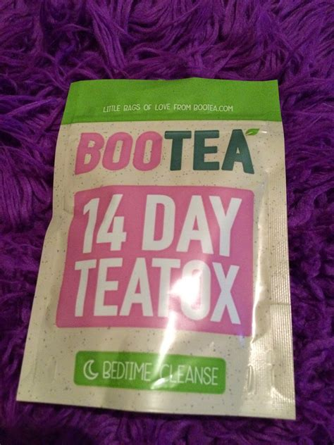 Detox Tea Bootea Reviews by Abbi Scarlet Review Bootea 14 Day Detox