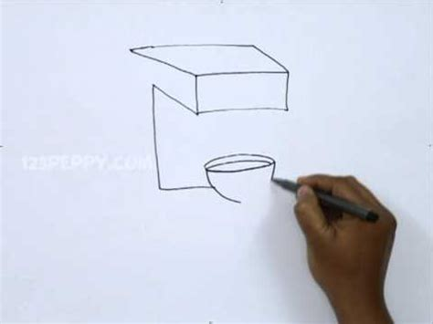 drawing maker how to draw a coffee maker