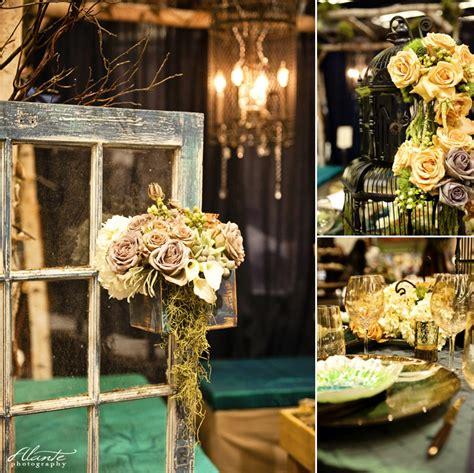 2012 seattle wedding show recap herban feast sodo park peacock wedding decor alante