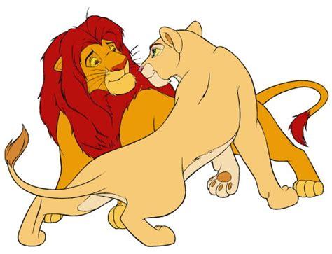 imagenes de leones sin color el rey leon animado imagui