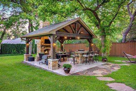 patio outside outdoor retreat in dallas custom patios