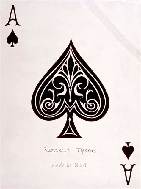 spade tattoo designs best 25 ace of spades ideas on ace of