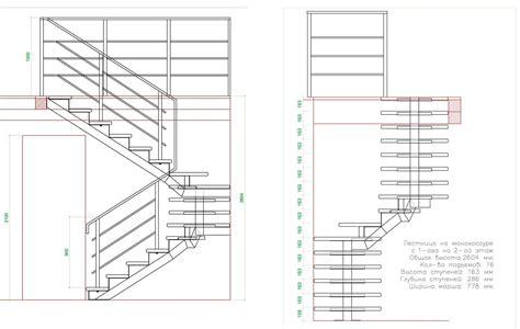 scale per interni dwg disegni di scale