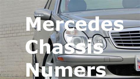 mercedes model numbers tips tricks