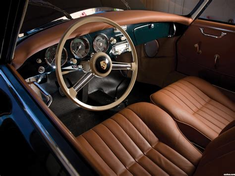 porsche speedster interior porsche 356 a coupe 1955 1959 car interiors pinterest