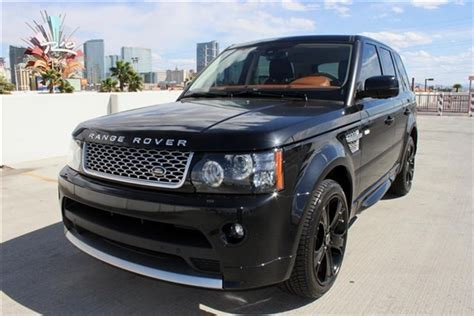 2012 land rover range rover for sale 2012 land rover range rover sport supercharged