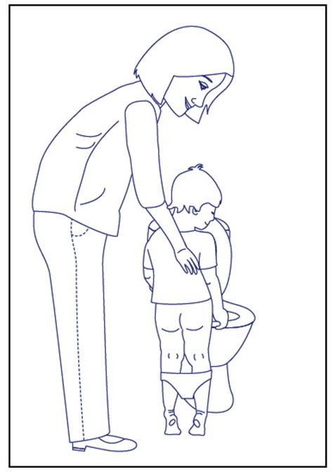 potty training free colouring pages