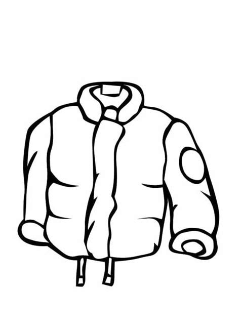 winter coat coloring pages freecoloring4u com