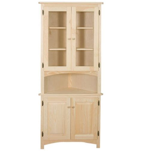 kitchen corner hutch cabinets 32 inch corner hutch simply woods furniture opelika al
