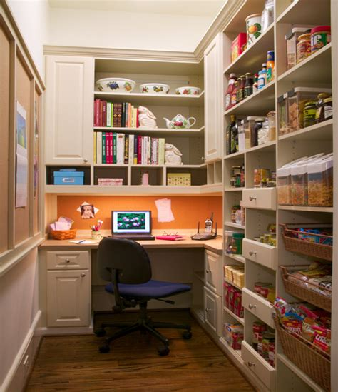 pantry mudroom traditional home office