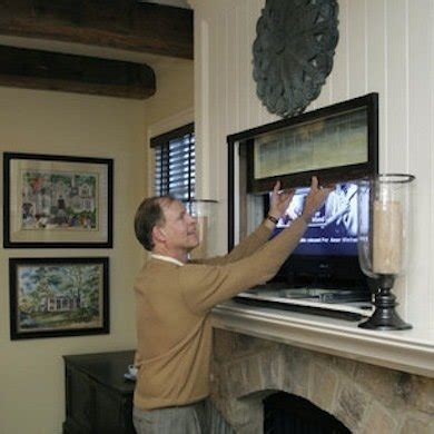 tv with doors to hide tv how to hide a flat screen tv 9 ways to make your look at