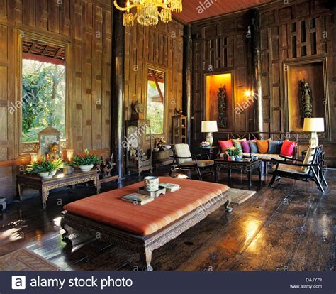 the thompson house villa living room in the jim thompson house stock photo royalty free image 58194173