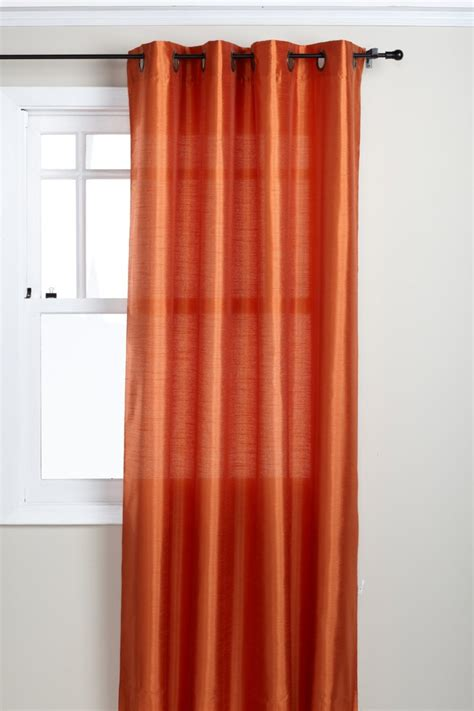 curtains with orange accessories drop dead gorgeous window treatment