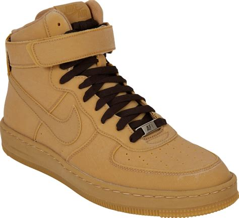 nike high top sneakers mens lyst nike air 1 downtown hi gum hightop sneakers