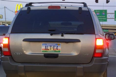Top Vanity Plates by The Geekiest License Plates Of All Time Wired