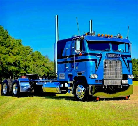 cabover pictures images  pinterest big
