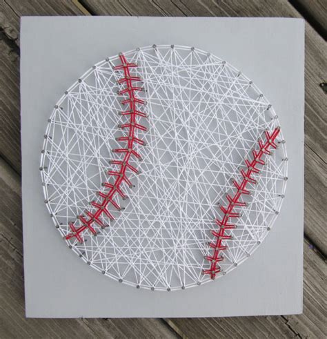 Baseball String - made to order string baseball sign