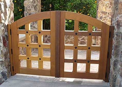 gate designs for homes wood romantichomedesign