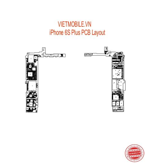 button layout iphone 6 iphone 6s plus schematic