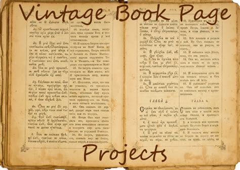 your page books book page craft projects reuse your books