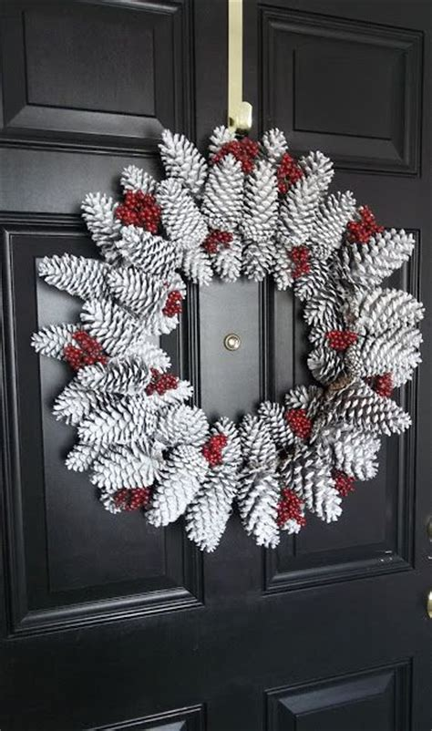 diy christmas pine cone crafts   festive decoration