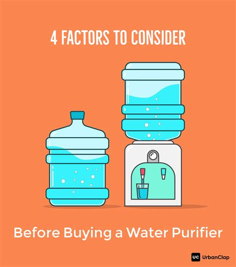 4 factors to consider before buying a water purifier