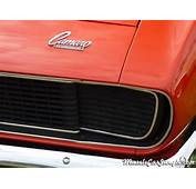 1968 RS Camaro Hidden Headlight