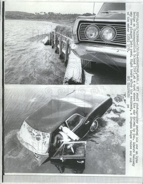 Chappaquiddick New York 1969 Press Photo Bridge On Chappaquiddick Island Edward Kennedy Accide Historic Images