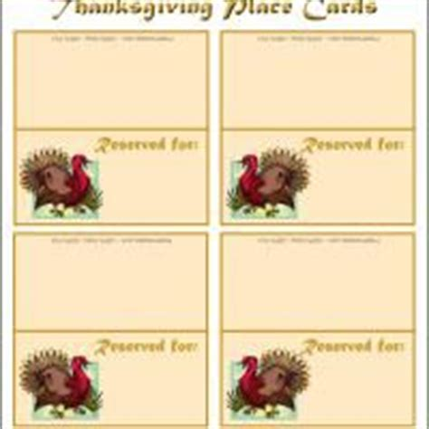 printable thanksgiving place cards to color 1000 images about thanksgiving name tags on pinterest