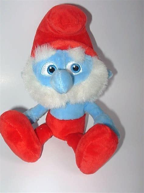 papa smurf movie soft doll plush stuffed animal the smurfs