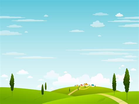Landscape Vector Vector Landscape And Business Concept Vol 02 1024x768 No