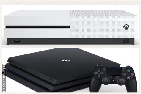 confronto console console a confronto xbox one s vs playstation 4 pro