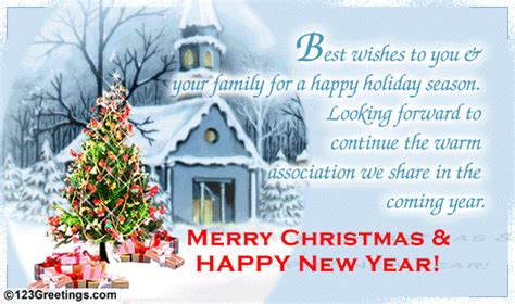 happy holiday season  business  ecards greeting cards