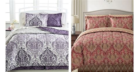 macys bed comforters macy s 8 piece bedding sets only 14 97 regularly 100