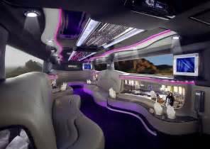 sports cars limousine interior