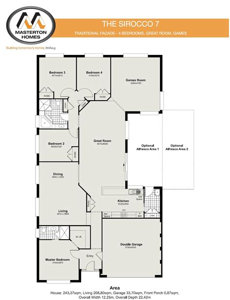 100 masterton homes floor plans flat design