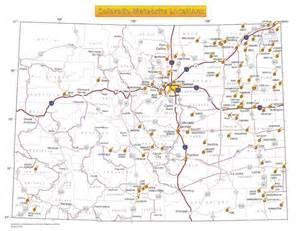 colorado fields map meteorites colorado geological survey
