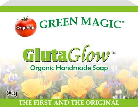 Gluta Green glutaglow soap green magic organic