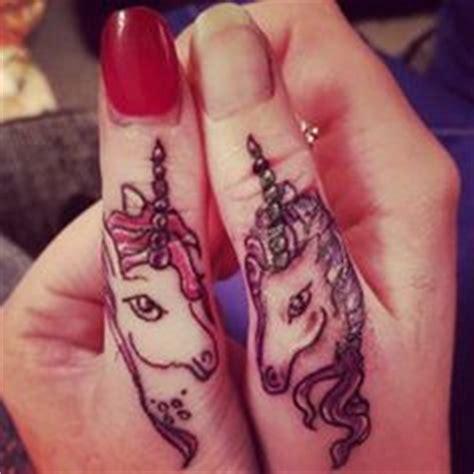 finger tattoo unicorn adorable unicorn tattoo tattoo ideas pinterest