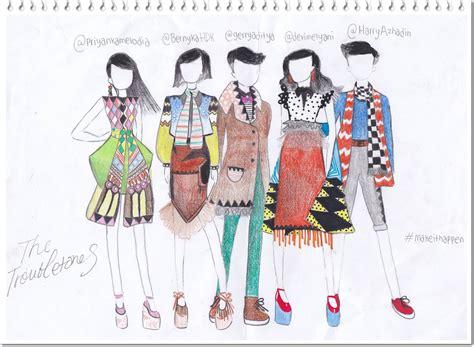 dina belajar sketsa baju newhairstylesformen2014