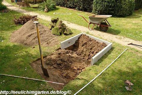 Wie Lege Ich Einen Garten An by Wie Lege Ich Ein Gemuesebeet Auf Einem Rasen An Hier Eine