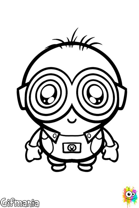 baby minion coloring page free coloring pages of baby minions